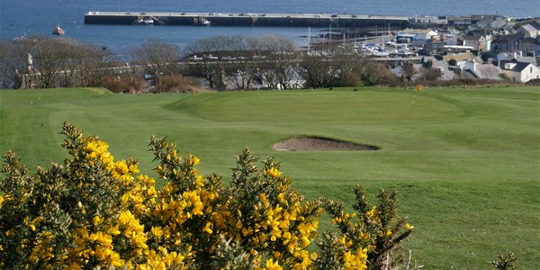 Port St Mary golf course on the Isle of Man