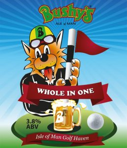 Bushys hole in one poster